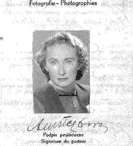 Dora's Polish passport