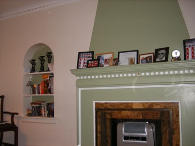 The Mansoors' mantel of memories