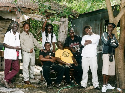 Members of Refugee All Stars.  Photo by Zach Smith.