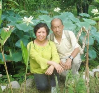 Kim and Hoa, my parents. Taken in Lumbini, Nepal Summer 2008.