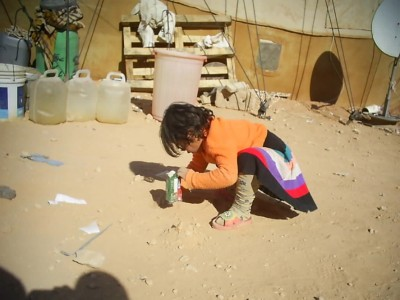 Al-Waleed Camp—Child Playing