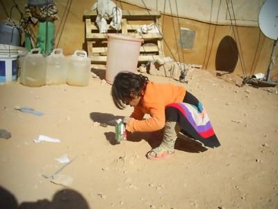 Al-Waleed Camp—Child Playing