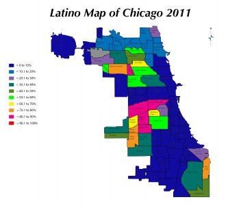 Zach-Latino Map of Chicago 2011