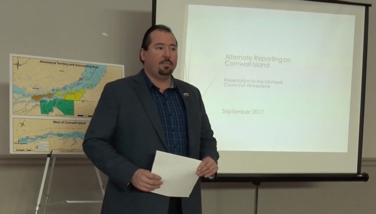 Crossing the border for the Akwesasne Tribe is a work in progress