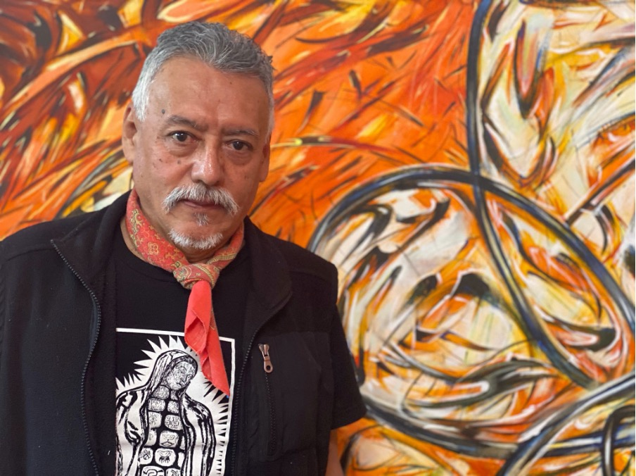 Two cultures drive the inspiration of Mexican artist Hector Duarte